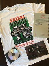 Skoal Bandit 2 Monster Truck Heavy Weight Collector Original New T Shirt DVD