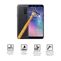"Protector de Cristal de Vidrio Templado para Samsung Galaxy A6 Plus 2018 (4G) 6"""