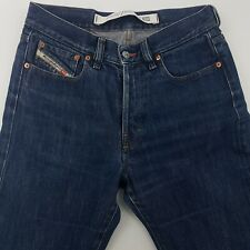 Diesel KULTER Mens Jeans W30 L28 Dark Wash Regular Fit Straight High Buttons