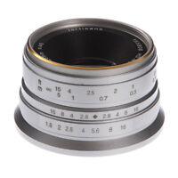 25mm F/1.8 Manual Focus Prime Lens For Fujifilm FX mount X-Pro2/1 X-E1 X-E2 XT10