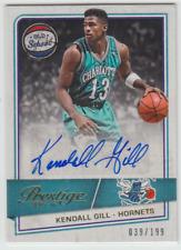 2015-16 Panini Prestige Hornets Kendall Gill Old School Autographs Auto 039/199