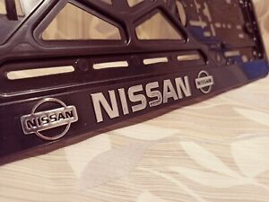 Black Nissan HOLDER FOR EU EURO EU PLATFORM FLEXIBLE!