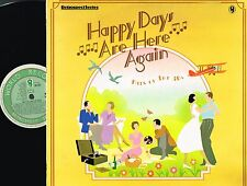 Happy Days Are Here Again Hits Of The 30's VINYL LP MONO World Rec SH 337 N/M-EX