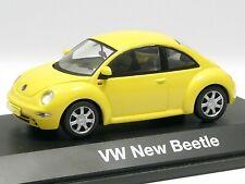 Schuco 1:43 VW New Beetle gelb # 04532