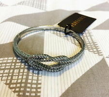 Forever 21 Silver Nautical Knot Bangle Bracelet