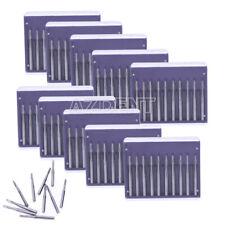 AZDENT Dental FG701 Burs Tungsten Steel Carbide Drill Hight Speec Handpiec 10Box