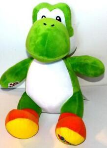 Build A Bear SUPER MARIO BROS GREEN YOSHI Stuffed Plush