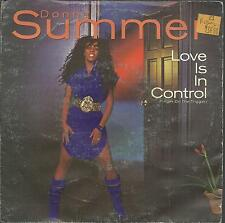 45TOURS  2 TITRES / DONNA  SUMMER  LOVE IS IN CONTROL