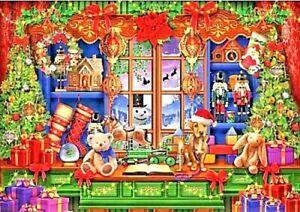 Ye Old Christmas Shoppe by Ciro Marchett Bluebird 1000 Piece Jigsaw Puzzle