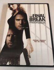 Prison Break: The Final Break (DVD, 2009) Like New
