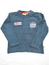 Jungen Shirt Roadsign Australia Gr128 Langarm Top Pullover marine blau rot weiß