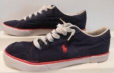 Men's Ralph Lauren Polo Canvas Shoes Size 12 D Mens Lace Up Casual