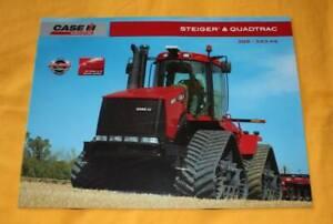Case Steiger & Quadratrac Traktor 2007 Prospekt Tractor Brochure Catalog Folder