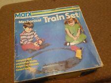 MARX 530 MECHANICAL TRAIN SET WITH BOX and KEY 1970s vintage