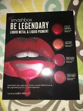 Smashbox Be Legendary Liquid Metal Pigment~Crimson~Haterade~ Mauve Wife~Rose B4