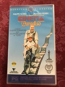 VHS - CINEMA PARADISO - Special Collectors Classic Edition video