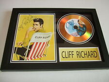 CLIFF RICHARDS     SIGNED  GOLD CD  DISC 2