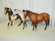 BREYER #711197 JC Penny Complete 3 Piece Horse Christmas Gift Set 1997