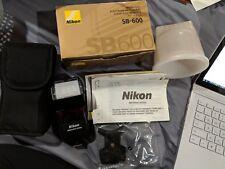 Nikon Speedlight SB-600 Shoe Mount Flash for  Nikon