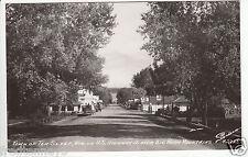 Rppc - Ten Sleep, Wy - Street Scene - 1950s era