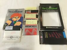 The Consultant Data Base Management System for Commodore 64 Used W/ Extra Disks