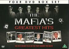 THE MAFIA'S GREATEST HITS - 4 DVD BOX SET - FBI'S SECRET FILES