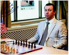GATA KAMSKY Grandmaster Signed Autographed CHESS 8x10 Photo D