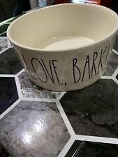 New listing Rae Dunn Dog Bowl Live,love,Bark!