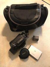 Sony Super Steady Shot HDR-SR12 Camcorder Bundle Black 120GB