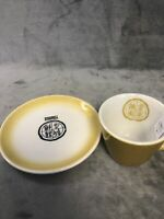 2 Piece Mixed Lot Asian Restaurant Ware Cup & Plate Blue Ridge/Jackson China