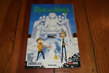 Rick and Morty #8 (2015) Xmas Issue Cover B Variant 1st Print High Grade NM+
