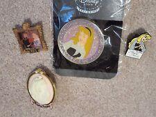 Disney Sleeping Beauty rare pin collection 4 pins