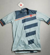 Castelli Trofeo Short Sleeve Jersey Winter Sky / Light Steel Large