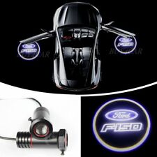 2x CREE Led Car Door Puddle Ghost Shadow Laser 3D Logo Light Lamp For Ford F-150