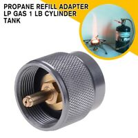1 lb. Propane Refill Adapter Lp Gas Cylinder Tank Coupler Heater camping Hunt