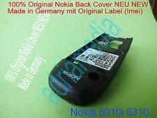 100% originale Nokia 6310 6310i Cover posteriore con etichetta NUOVO GUSCIO chassis con imei