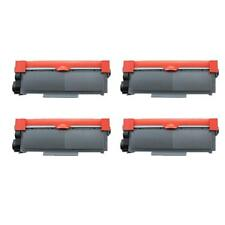 4pack High Yield TN660 Black Toner Cartridge For Brother MFC-L2705DW MFC-L2707DW