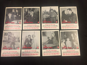 Trading Card The Addams Family 1964 Lot of 8 Morticia Gomez Adams Excellent Cond
