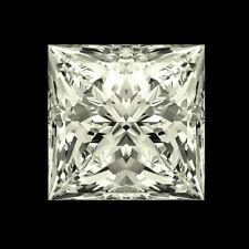 Fiery 6 MM 1.07 CT VVS2 I-J Near White Princess Brilliant Cut Genuine Moissanite