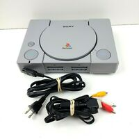 Vintage Sony Playstation 1 PS1 Console  with Cables Only SCPH-7501