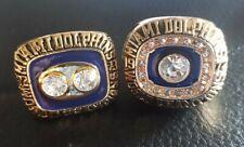 Miami Dolphins 70s world championship ring set, New