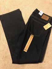 NWT Womens Ralph Lauren Jeans Premium Tribeca Sz 14 Bootcut Dark Wash RLL