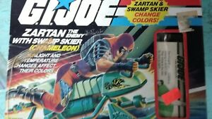 GI Joe Zartan v1 1984 with Box and Swamp Skier complete