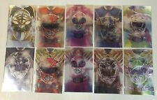 Mighty Morphin Power Rangers Necessary Evil Foil Cover Full Set (#40-49) NM+ 9.6