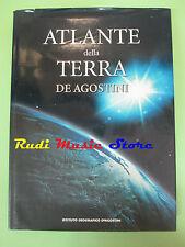 book libro ATLANTE DELLA TERRA DEAGOSTINI 2001 ISTITUTO GEOGRAFICO  (L3)