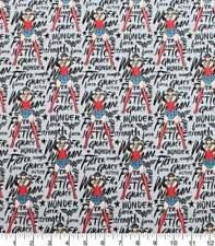 Wonder Woman Jersey Poplin Digital Printed Fabric By The Yard