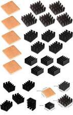 20pcs Raspberry Pi 4 Heatsink Kit Aluminum + Copper + 3M 8810 Thermal