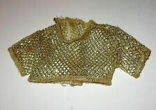 Mattel KEN DOLL - Sun Sensation (1991) Gold Mesh Top