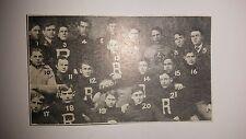Roanoke College Salem Virginia 1906 Mini Football Team Picture Rare!