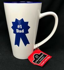 Funny #1 Dad Giant Extra Large Coffee Tea Latte Cup Mug Father Gift NEW 32 oz